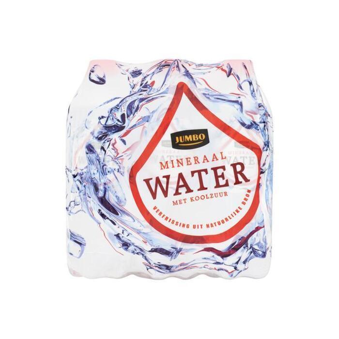 Jumbo Mineraalwater met Koolzuur 6 x 500 ml (6 × 0.5L)
