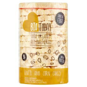 BioToday Linzen-maiswafel 100 g rol (100g)