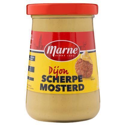 Marne Dijon scherpe mosterd (240g)