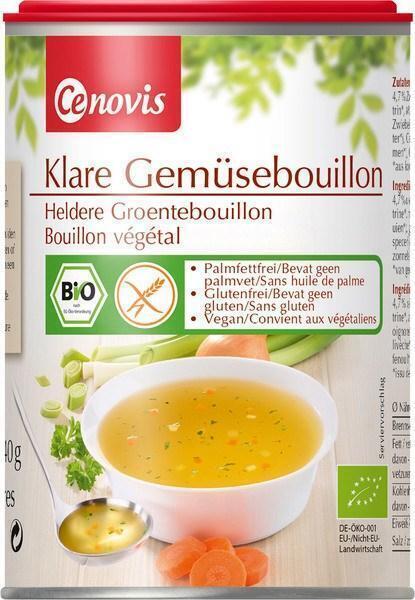 Heldere groentebouillon (240g)