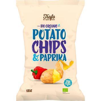 Potato chips paprika (zak, 125g)