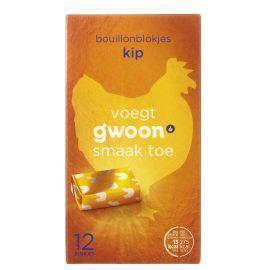 g'woon Bouillonblokjes kip (120g)