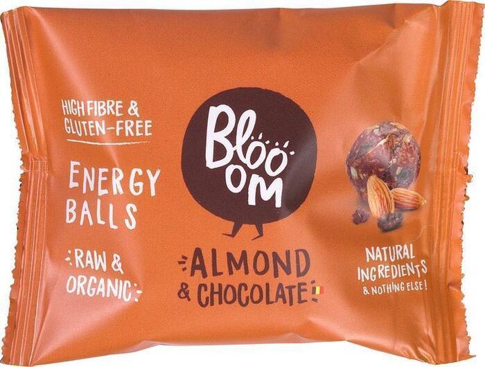 Amandel& chocolade energie bal (32g)