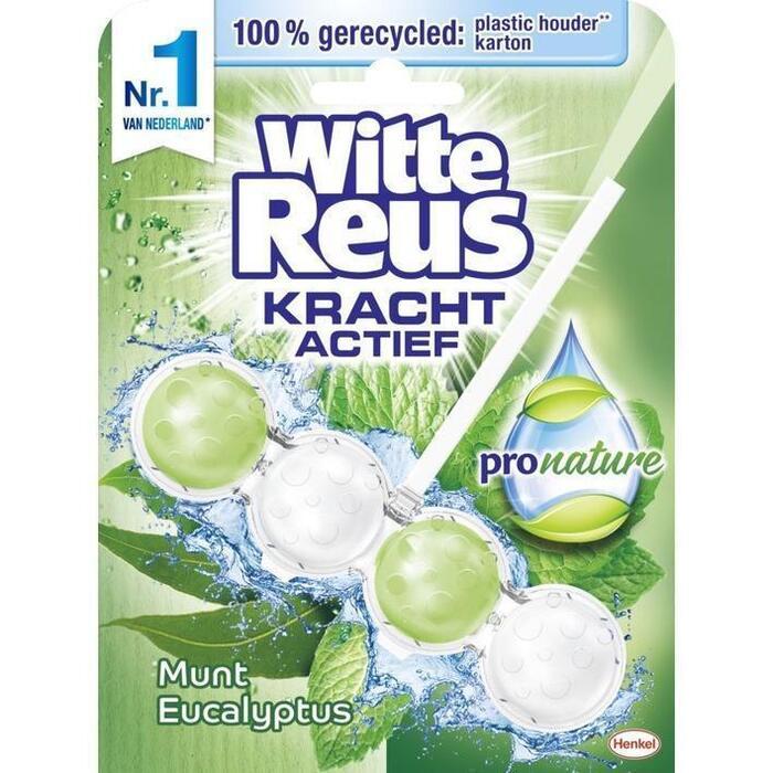 Witte Reus Pro nature munt eucalyptus (blister, 50g)