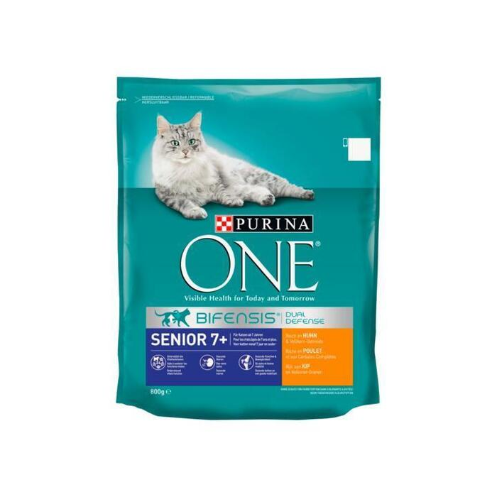 Purina ONE Bifensis Dual Defense Senior 7+ Kip 800 g (Stuk, 800g)