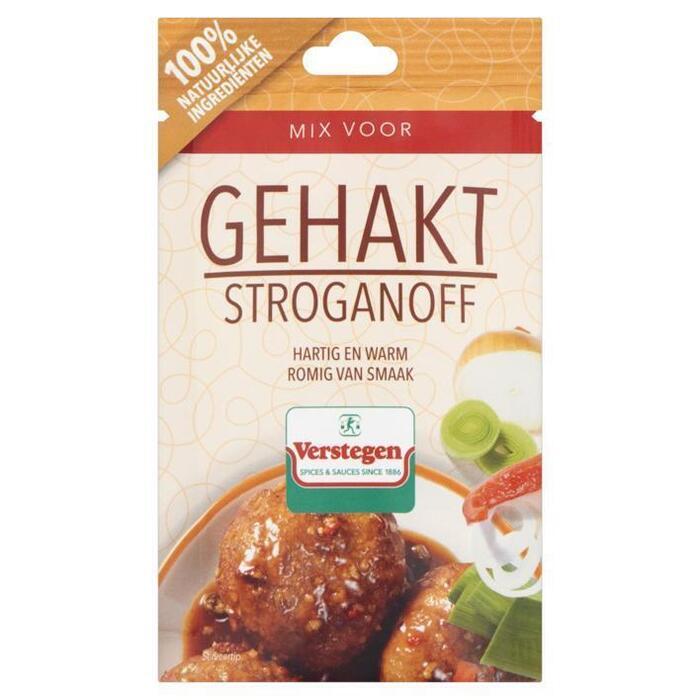 Kruidenmix gehakt stroganoff (zak, 40g)