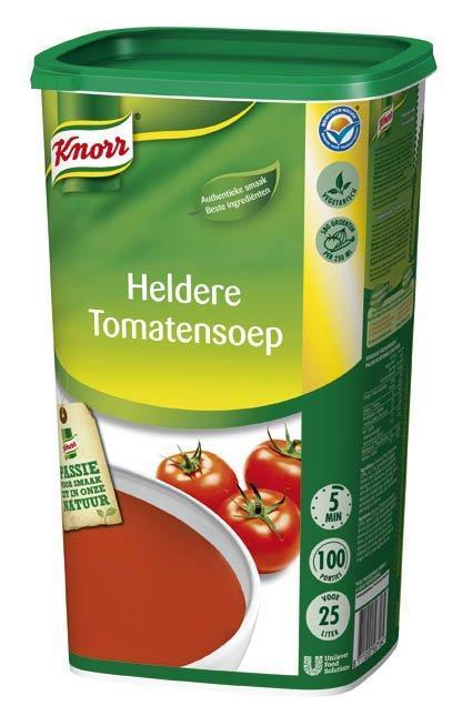 Knorr Heldere Tomatensoep 1.125KG 6x (6 × 1.12kg)