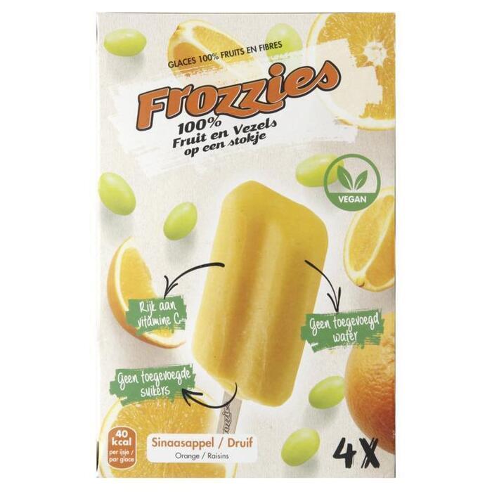 Frozzies sinaasappel en druif (4 × 220ml)