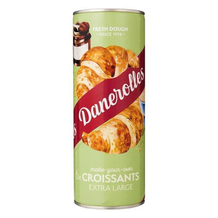Danerolles Croissants Extra Large 6 Stuks 340 g (Stuk, 6 × 340g)