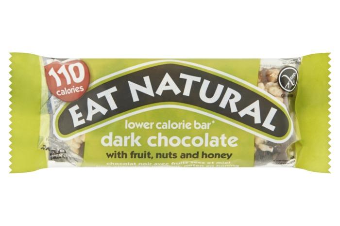 Eat Natural Pure chocolade met fruit noten en honing (30g)