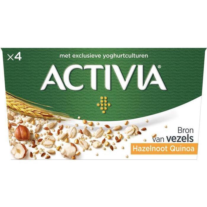 Activia Granen hazelnoot-quinoa (4 × 500g)