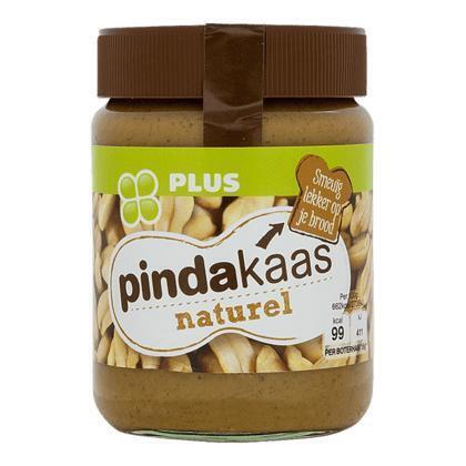 Pindakaas naturel (350g)