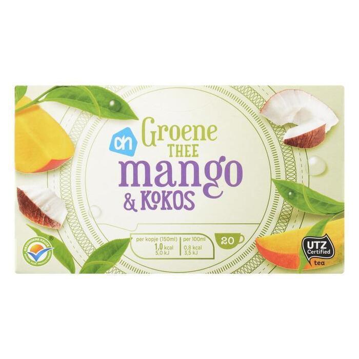 AH Groene thee mango & kokos