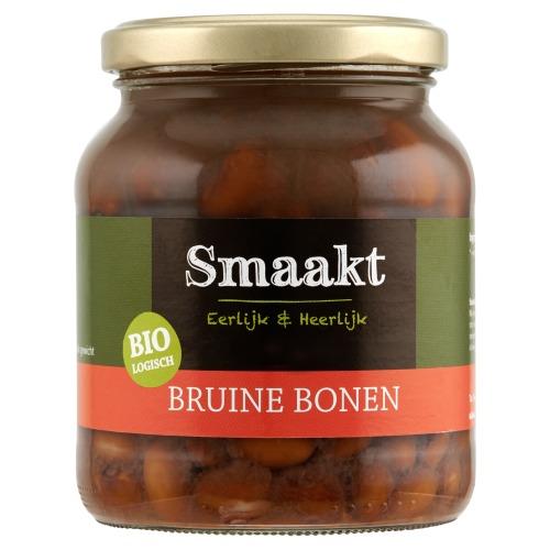 Biologisch Bruine Bonen (glas, 350g)