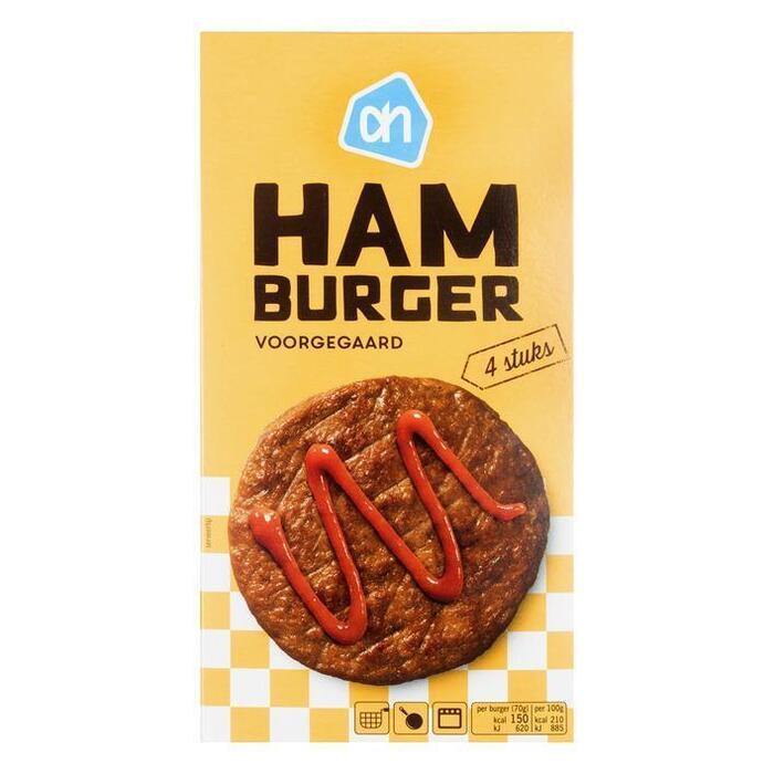AH Hamburgers (4 × 75g)