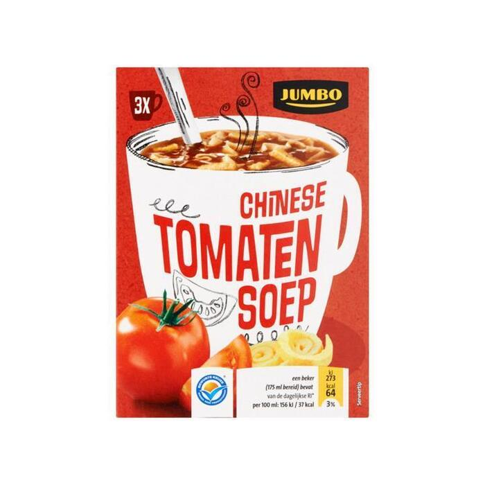 Jumbo Chinese Tomatensoep 3 Zakjes 51, 0g (51g)
