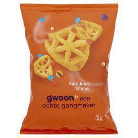 g'woon Ham kaas snacks (120g)