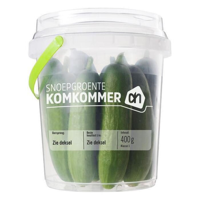 Snackkomkommer (bakje, 400g)