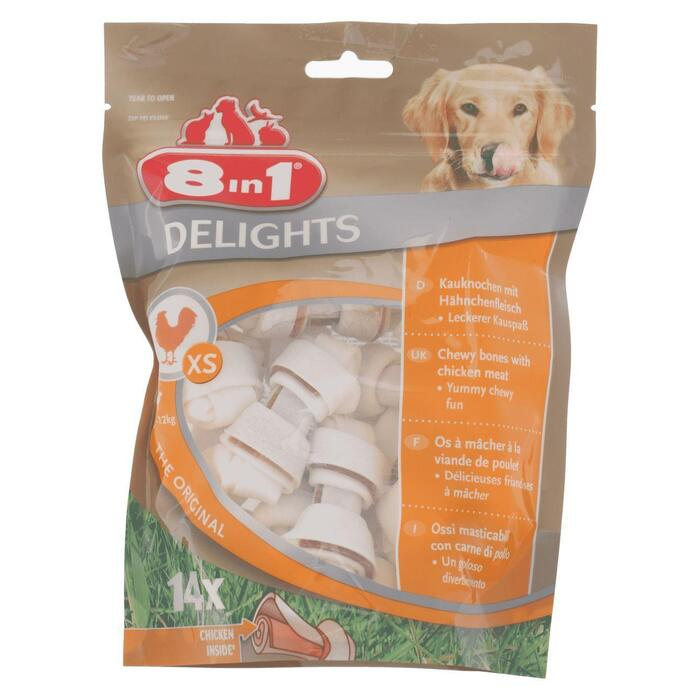 8In4 Delights bone XS, 14 stuks (170g)