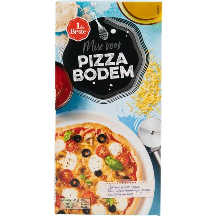 Pizza bodem mix (450g)