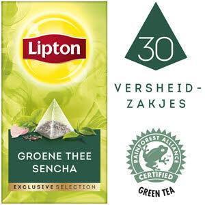 Lipton Excl Select Groene Thee 30S 6x (bak, 54 × 54g)