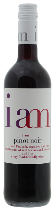 I Am Pinot Noir 750 ml Fles (0.75L)