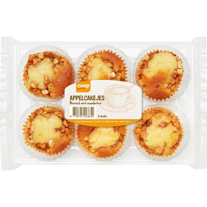 Coop Appelcakejes 6 stuks (6 × 240g)