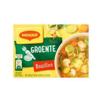 Maggi Groente bouillonblokjes (tabl, 81.6g)