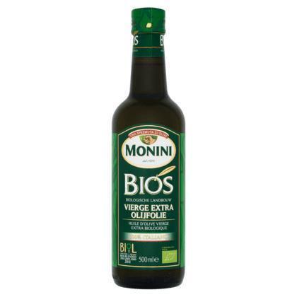 Bios Viere Extra Olijfolie (glazen fles, 0.5L)