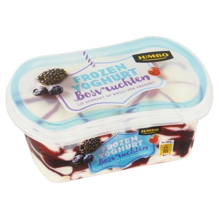 Jumbo Frozen Yoghurt Bosvruchten 200ml (200ml)