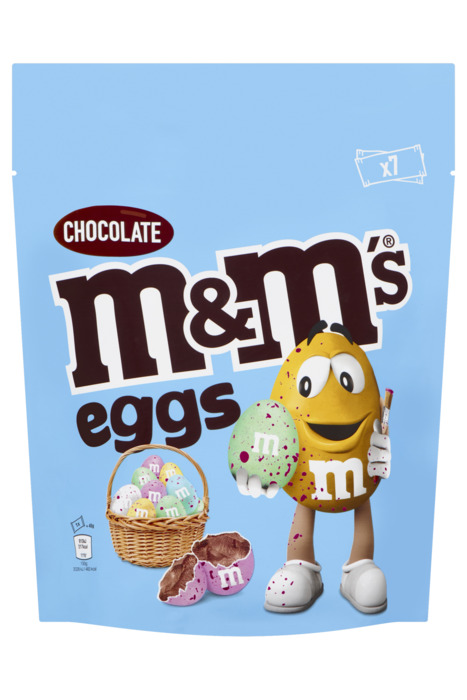 M&M's Eggs Chocolate 7 x 45 g (7 × 45g)