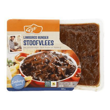GIJS Runderstoofvlees (500g)