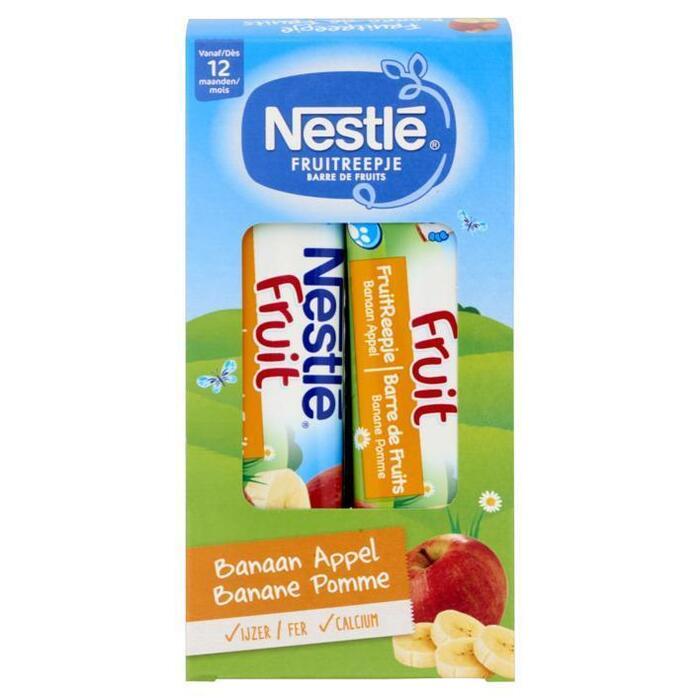 Nestlé Fruitreep banaan pap 12 maanden (4 × 25g)