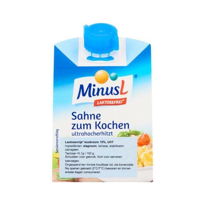 MinusL Lactosevrije Kookroom 200 g (200g)