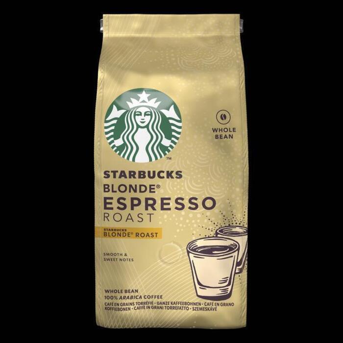 Starbucks® Blonde® Espresso Roast Blonde® Roast Koffiebonen 200 g Zak (200g)