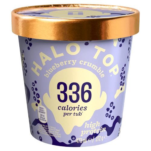 HALO TOP Blueberry Crumble 272 g (272g)