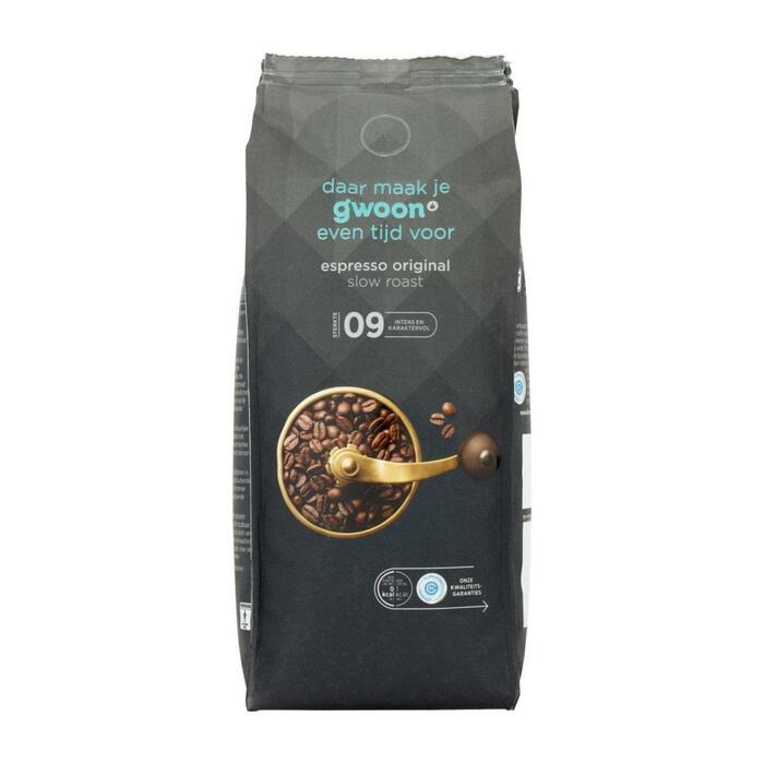 g'woon Espresso original (500g)