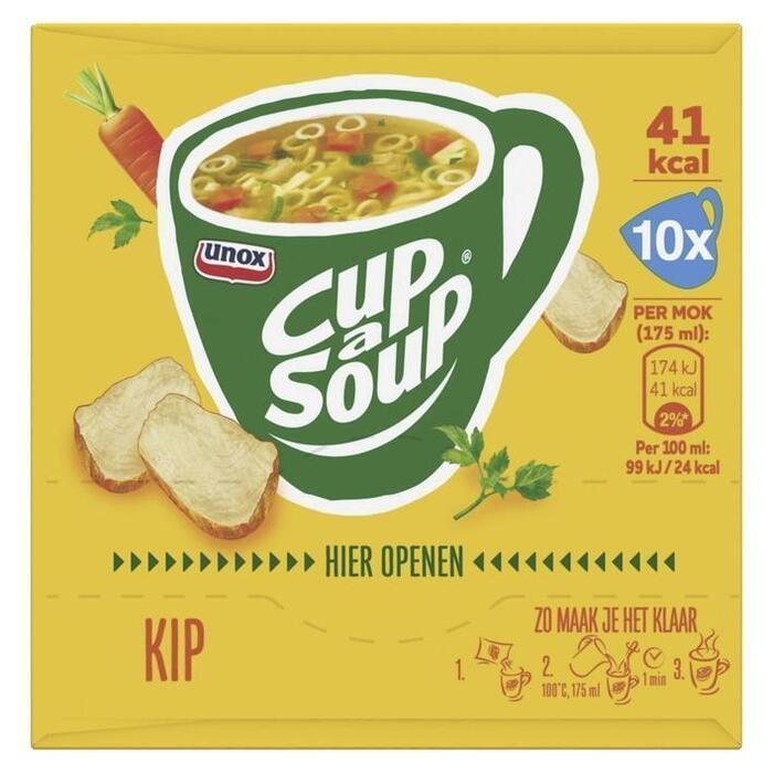 Cup-A-Soup Kip (Stuk, 10 × 175ml)