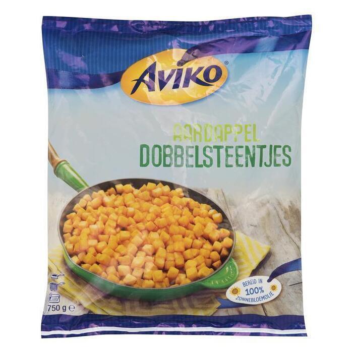 Aardappel Dobbelsteentjes (Stuk, 750g)