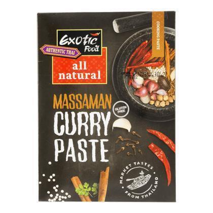 Exotic Food Massaman kruidenpasta all natural (50g)