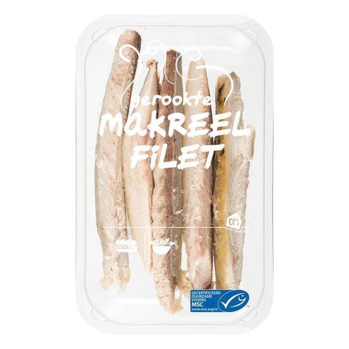 AH Gerookte makreelfilet graatloos (165g)