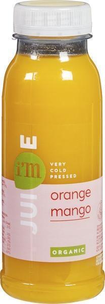 IM Bio sinaasappel mango (250ml)