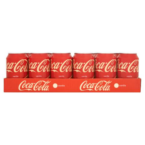 Cola Vanilla 24 x 330 ml (24 × 33cl)