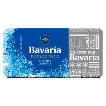 Bavaria Premium Pilsener Fridge (rol, 8 × 33cl)