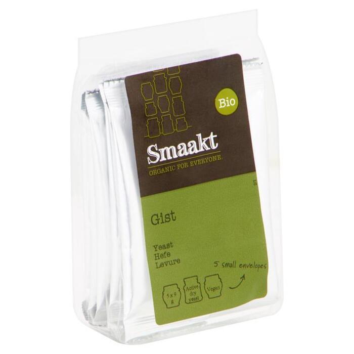 Smaakt Gist 5st zak (5 × 9g)