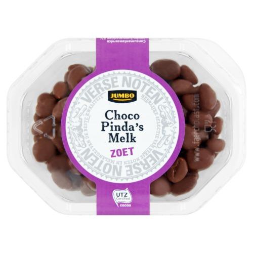 Jumbo Choco Pinda's Melk Zoet 210g (210g)