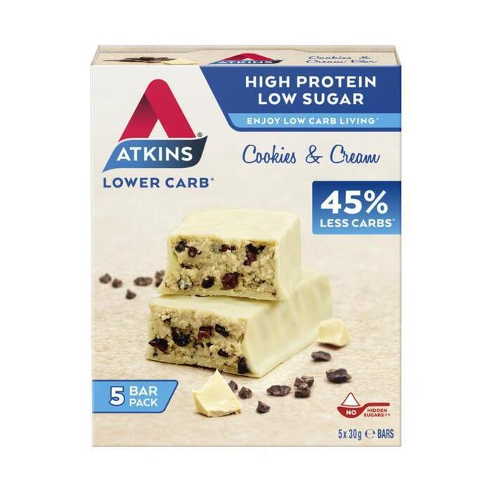 Atkins Cookies & cream (5 × 30g)