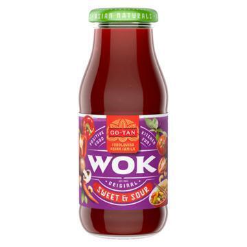 Woksaus sweet sour (240ml)