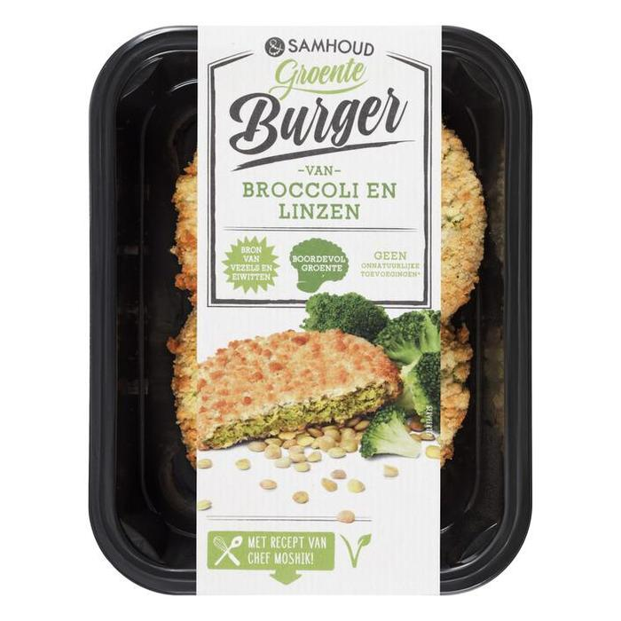 &samhoud Broccoliburger (bak, 180g)