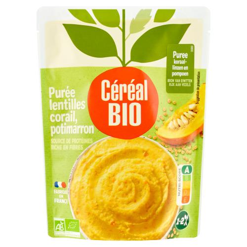 Céréal Bio Pompoenpuree met Rode Linzen 250 g (250g)